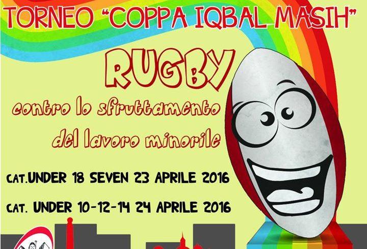 """Social rugby a Librino per il Torneo nazionale """"Coppa Iqbal Masih"""""""