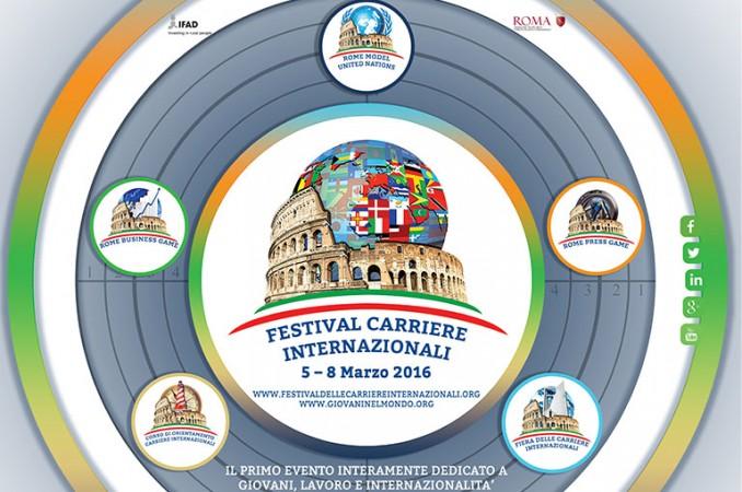 Collabora con il Festival delle Carriere Internazionali 2017