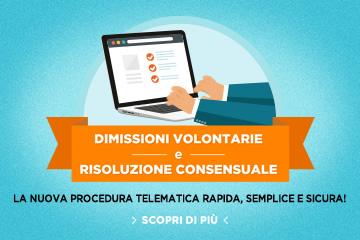 Dimissioni volontarie e la risoluzione consensuale: la nuova procedura