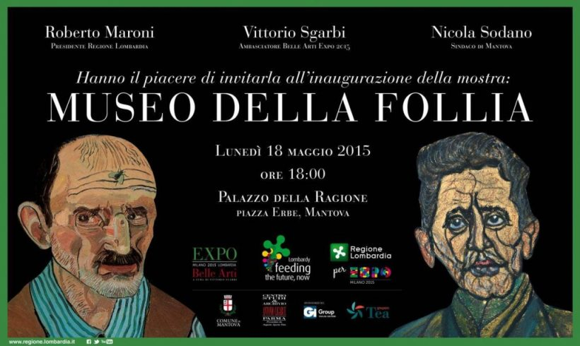 """Dal 22 aprile nel Castello Ursino la mostra """"Museo della follia"""""""