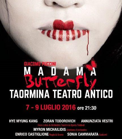 In scena la Madama Butterfly a Taormina il 7 e 9 luglio