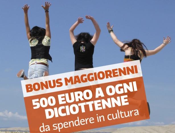 Diciottenni, arriva il bonus da 500 euro per la cultura. Al via «18app»