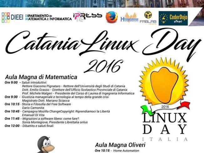 A Catania è Linux Day  La giornata del software libero