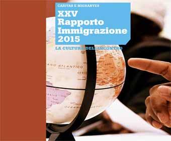 XXV Rapporto Immigrazione 2015